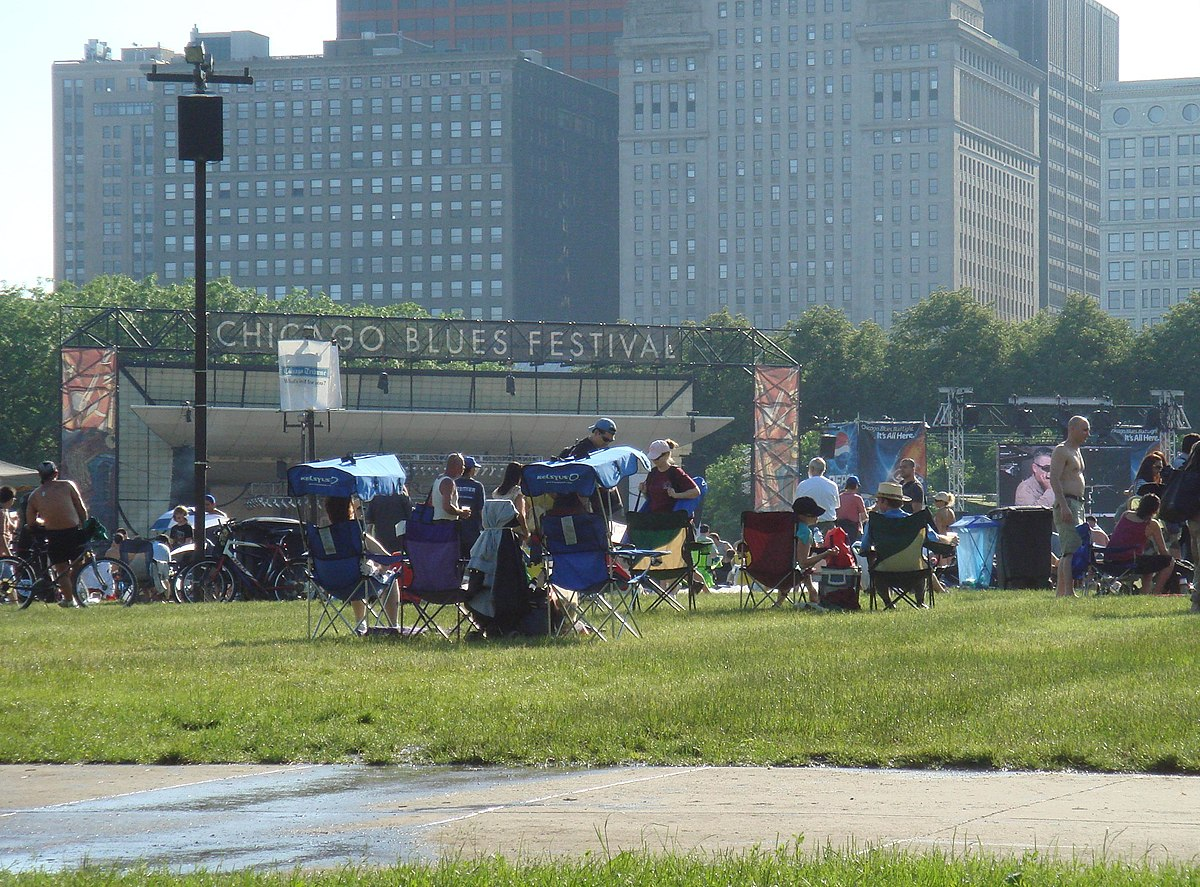 Chicago Blues Festival Simple English Wikipedia The