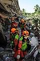 2010년 중앙119구조단 아이티 지진 국제출동100118 중앙은행 수색재개 및 기숙사 수색활동 (239).jpg