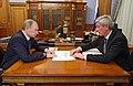 2010-11-16 Владимир Путин, Юрий Чиханчин.jpg