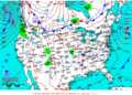 2012-02-09 Surface Weather Map NOAA.png
