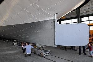 2012 'Tag der offenen Werft' - ZSG Werft Wollishofen - Dampfschiff Stadt Zürich (Renovation) 2012-03-24 14-25-40.jpg