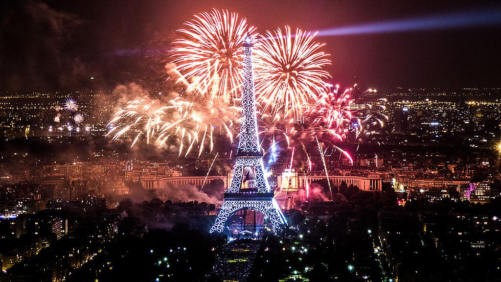 Paríž na nový rok