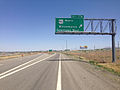 2014-06-12 12 55 14 Sign for Exit 176 along eastbound Interstate 80 and northbound U.S. Route 95 in Winnemucca, Nevada.JPG
