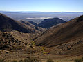 2014-10-03 08 33 59 View east toward Newark Valley from the ridgeline between Alpha Peak and Diamond Peak in the Diamond Mountains, Nevada.JPG