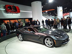 Corvette Stingray  2014 on Chevrolet Corvette   Wikipedia  La Enciclopedia Libre