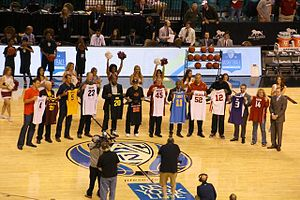 2014 Pac-12 Conference Men's Basketball Tournament - 2014 Hall of Honor induction ceremony