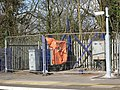 2014 at Tilehurst station - platform 4 footbridge remains.jpg