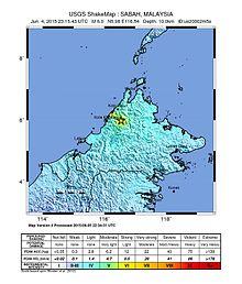 Sabah Earthquake