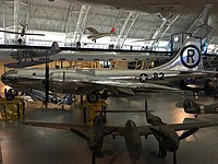2016-01-02 14 53 04 View of the Enola Gay within the Steven F. Udvar-Hazy Center of the Smithsonian in Chantilly, Fairfax County, Virginia.jpg