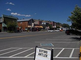 Prairie City, Oregon - Downtown Prairie City