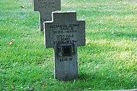 2017-09-28 GuentherZ Wien11 Zentralfriedhof Gruppe97 Soldatenfriedhof Wien (Zweiter Weltkrieg) (063).jpg
