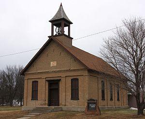 First Baptist Church (Garden City, Minnesota) - The church in 2017