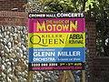 2018-06-13 Concert advertisement, Mundesley road, Trimingham.JPG