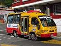 2018 Bogotá Las Nieves, bus en la carrera 4 con calle 24.jpg