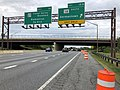 2019-06-18 13 41 32 View north along Interstate 270 (Washington National Pike) at Exit 15B (Maryland State Route 118 SOUTH, Germantown) in Germantown, Montgomery County, Maryland.jpg