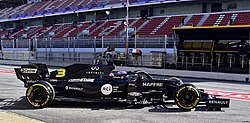 2020 Formula One tests Barcelona, Renault R.S.20, Ricciardo.jpg