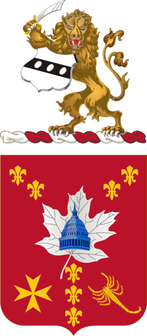 213th Air Defense Artillery Regiment - Coat of arms