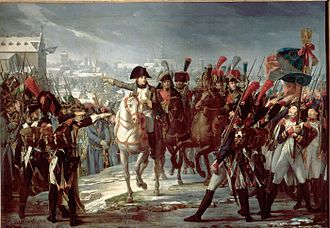 Battle of Ulm - The II Corps in Augsburg.