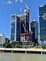 300 George and The One, Brisbane under construction in November 2018, 01.jpg