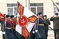 31 марта 2013 года 23 ОМСБр вручено Знамя нового образца.jpg