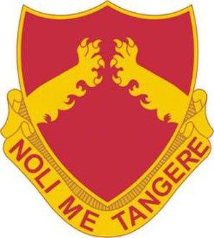 18th Field Artillery Brigade - Image: 321 FA Rgt DUI