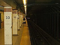 33rd Street 6 Line New York Subway Station by David Shankbone.jpg