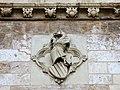 356 Torres dels Serrans (València), cara nord, escut del Regne de València.jpg