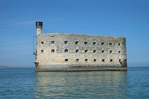 Fort Boyard (TV series) - Fort Boyard, as seen from the sea.