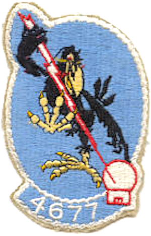 17th Defense Systems Evaluation Squadron - 4677th DSES Patch