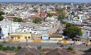 Jhansi Metropolis in Uttar Pradesh, India