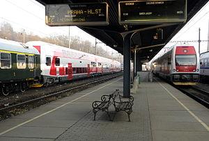 Railways of Slovak Republic - Čadca railway station