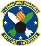 7 Munitions Sq emblem.png