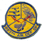 827th Air Defense Group - Emblem