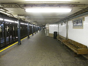 86th Street (IRT Broadway–Seventh Avenue Line) - Uptown platform