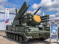 96K6 Pantsir-S1 tracked at Engineering Technologies 2012.jpg