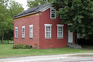 Madison, Ohio - Old Brick School