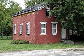 Madison, Ohio - Old Brick School