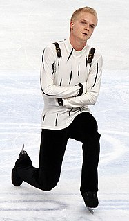 Adrian Schultheiss Swedish figure skater