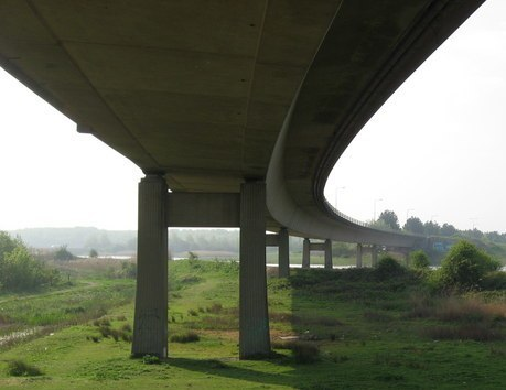 A4232 Southern Way viaduct, Cardiff