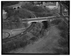 AERIAL VIEW OF P STREET BRIDGE.tif