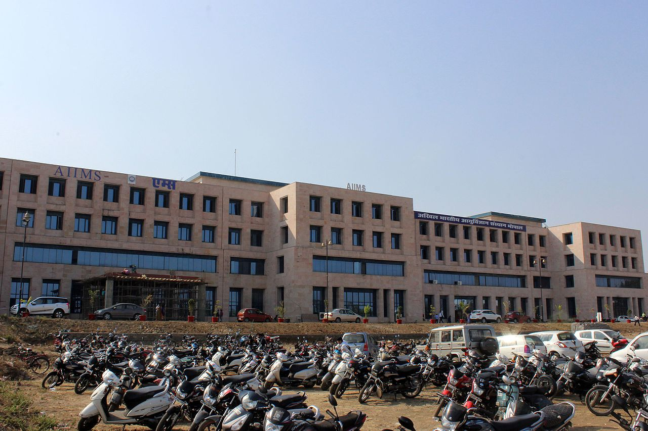 File:AIIMS Bhopal Building Front (5) jpg - Wikimedia Commons