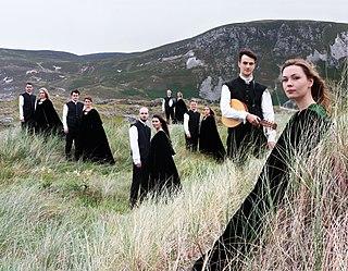 Anúna Irish choral ensemble, led by Michael McGlynn