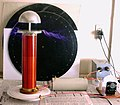 A Classical Tesla Coil with Top Load Tuning VIII.jpg