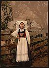 A Hardanger girl, Hardanger Fjord, Norway (LOC).jpg