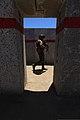 A New Zealand soldier participating in Dawn Blitz 2013 walks past a doorway at Range 216 at Marine Corps Base Camp Pendleton, Calif., June 13, 2013 130613-M-DB000-739.jpg