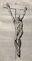 A crucified écorché figure Wellcome V0008838.jpg
