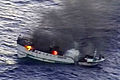 A fire burns aboard the Taiwanese fishing vessel Shin Maan Chun in the Pacific Ocean 120421-N-ZZ999-004.jpg