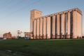 A grain elevator in the town of Edna in Jackson County in southeastern Texas LCCN2014631062.tif