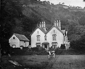 A house, Llangollen