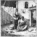 A man observing his wife breast feed their child. Etching by Wellcome L0014558.jpg